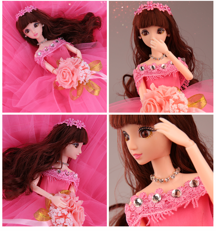 Wedding Doll Girl Princess Toys For Girls Baby Dolls Lol Set Doll