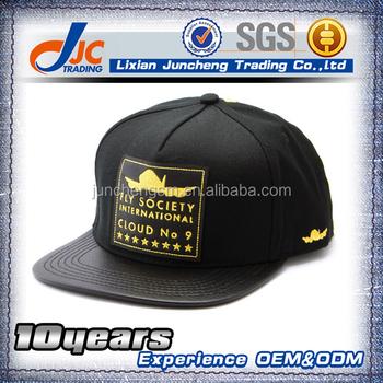 Cabelas hip hop casual leather brim 5 panel hat simple best snapback cap hat 0a159dcb81a