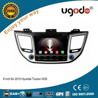 ugode 8'' Screen Size and Dashboard Placement Hyundai Tucson dvd auto radio