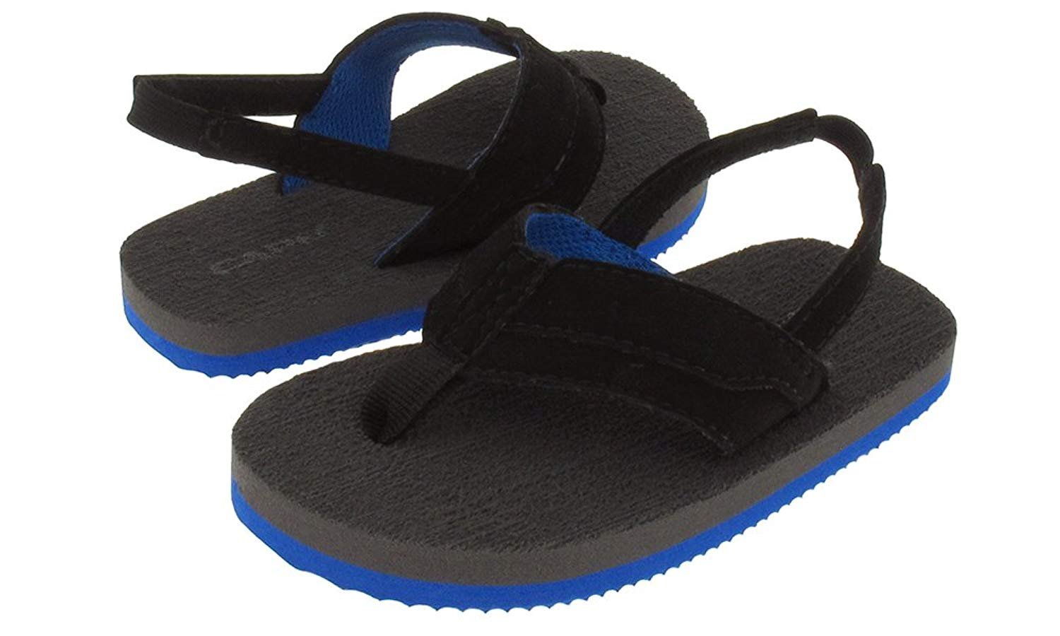 Capelli New York Lamy Thong With Color Lining Toddler Boys Flip Flops