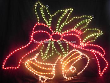 Christmas Bell Motif Led Lighting / Led Christmas Bell Motif Light ...