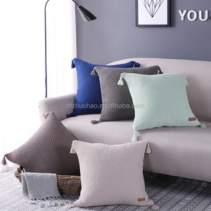 Avigers Latest Design knitted Outdoor Cushion Cover Cushion Home Decor throw Pillow Cover