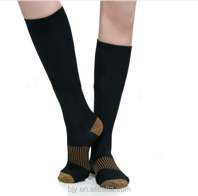 Home use sox Anti-foul Copper Compression Socks men women socks