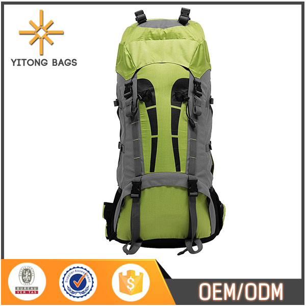 600D Pu Jacquard Waterproof Hiking Picnic Backpack For Girls
