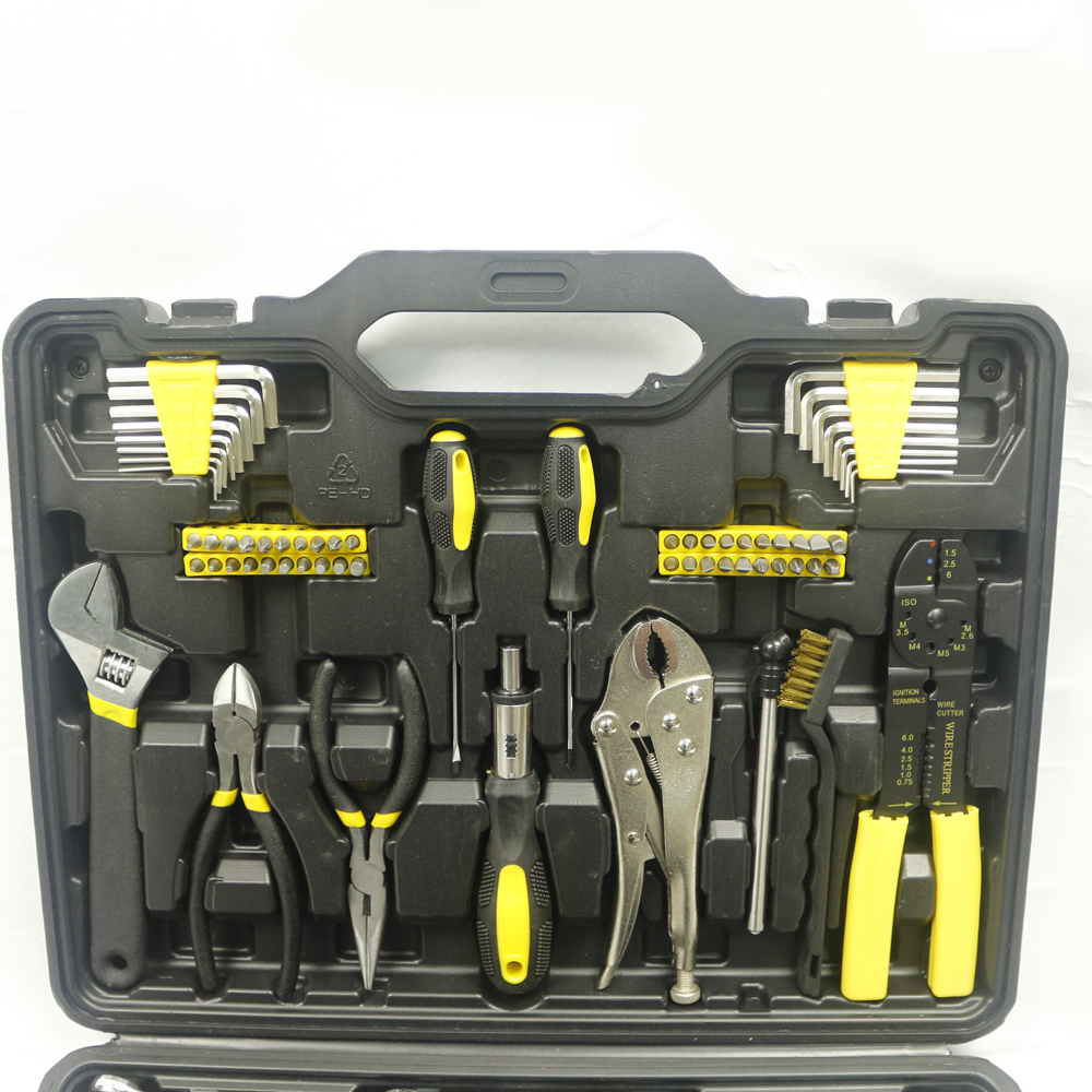 Professional Auto Repair Kit 123pcs Household mechanical  Tool Set Car Tools