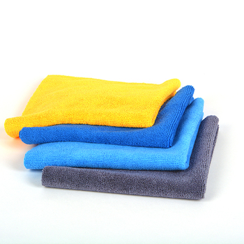 oil absorbent microfiber cleaning cloth 40x40 for dish cleaning