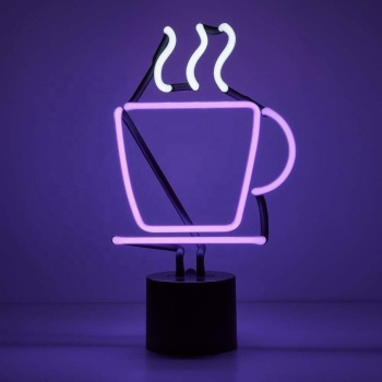 Hot Sale colorful high brightness party decoration indoor coffee led sign custom neon light