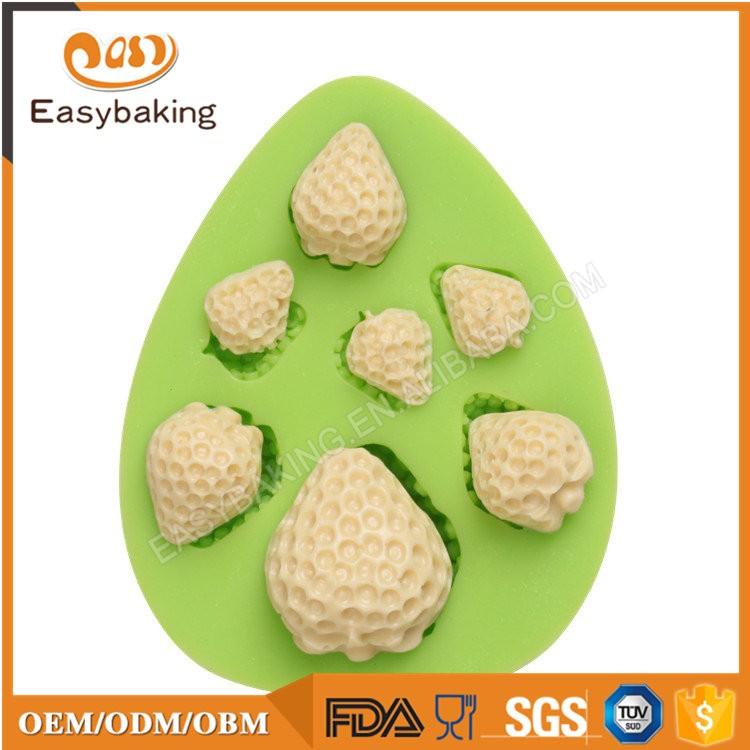 ES-4506 Fruit Shape Silicone Fondant Cake Decorating Mold