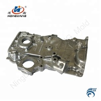 High Quality Custom Aluminum Die casting Timing Chain Cover Auto Parts Engine Timing Cover