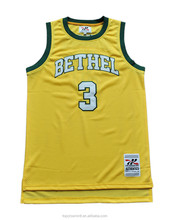 Tackle Twill Basketball Clothing Custom New Design Basketball Jerseys BK62