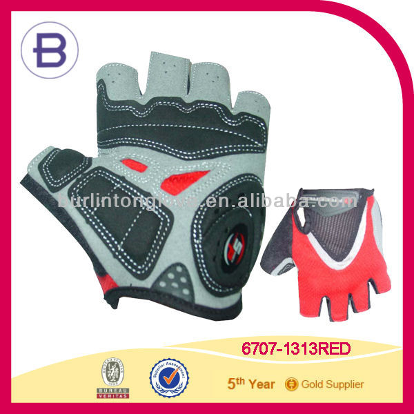 Mens SF Short Finger Fingerless Cycling Bike Race Glove Mitts Amara