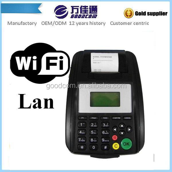 LAN & WIFI Thermal Receipt Printer for printing Email order supports multi language for device menu and printout