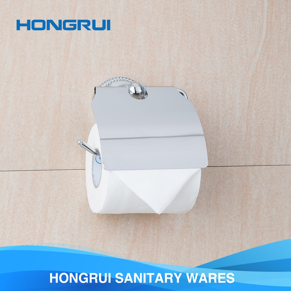 Wholesale cheap zinc alloy toilet tissue roll paper holder for hotel