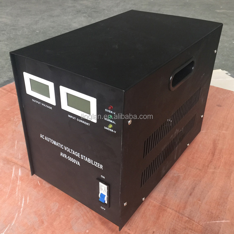 single-phase 5kva servo motor voltage stabilizer price