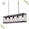 Industrial Loft Pendant Light Big Cage Hanging Light Black iron Basket Decorative Light