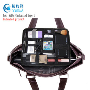 Alibaba net Elastic organizer Grid Digital Storage Bag