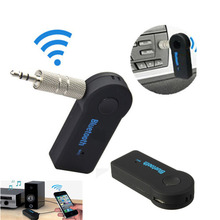 Portable Bluetooth Audio Receiver 3.5mm Music Stereo Rceiver Adapter for Car iphone Support 2 Bluetooth-enabled Devices