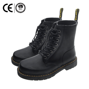 Latest arrival women rubber shoes horse riding rubber gum outsole martin boots