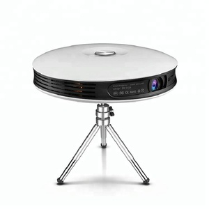 High Level mini 1080P HD Android 3D 4K Projector with 2 speakers
