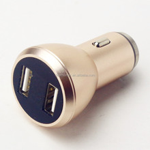 Universal Car Charger 5V 3.1A Quick Charge Dual USB Port LED Display For iPhone
