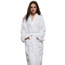 2017 Men And Women 100% Cotton Terry Bathrobe Lovers Solid Towel Sleepwear Long Bath Robe Kimono Femme Dressing Gown bathrobe