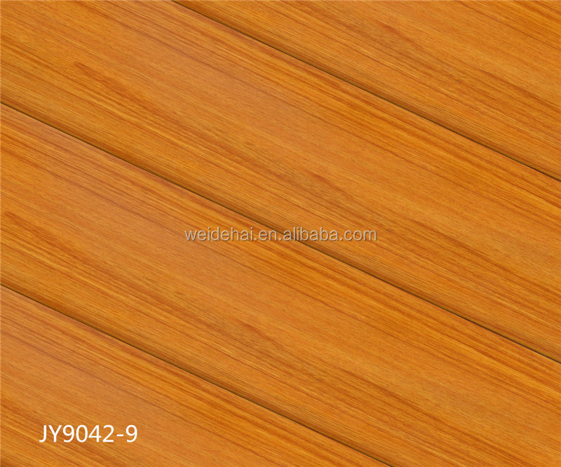 chinese parquet 12mm mdf hdf wood oak laminated flooring