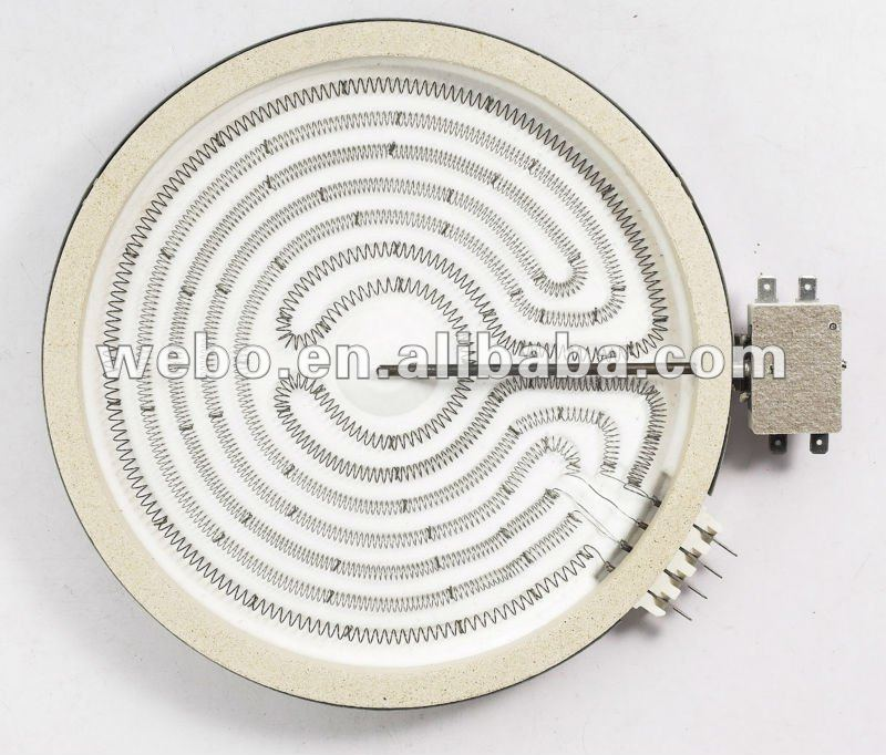 230mm 2600W 230V Ceramic Hot Plate Parts HL-F230C/Ceramic Heater Element/electric stove