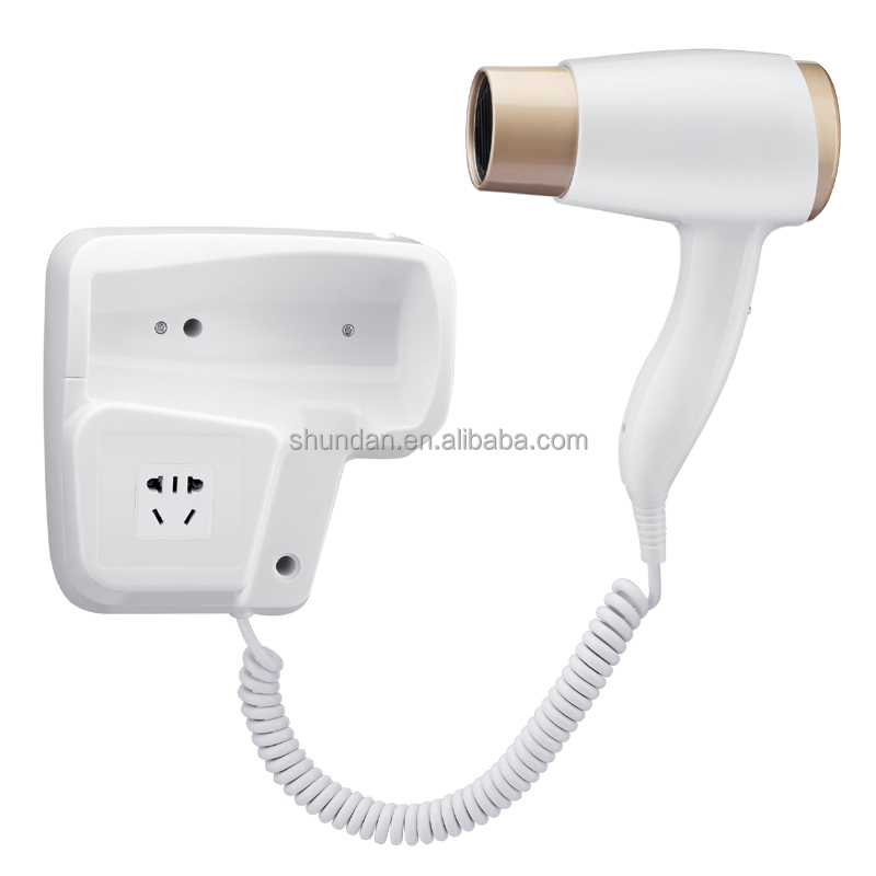 Wholesale Wall Mounted Hotel Hair Dryer Made-in-China OEM