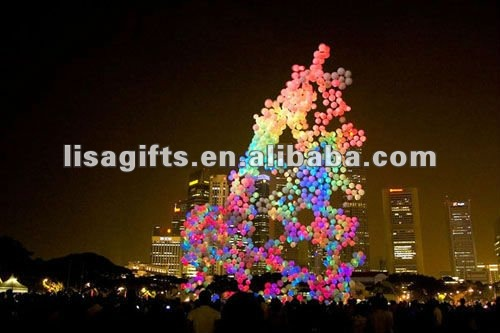 hottest led balloons flashing blinking 3 in 1 led balloon lights