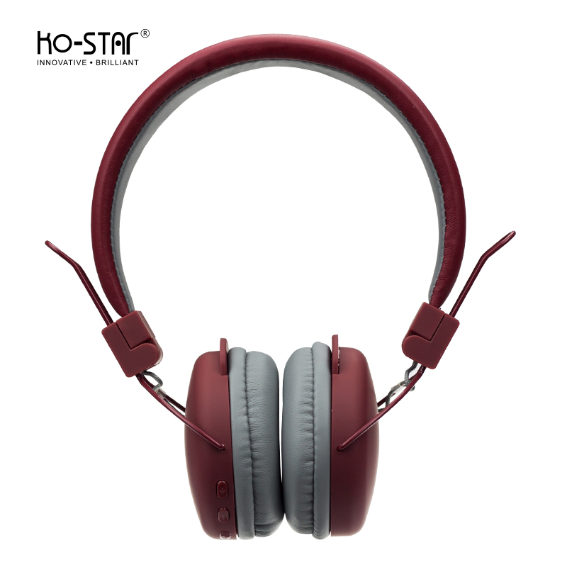 KO-STAR super comfortable wholesale stereo bluetooth headphones  for long time use