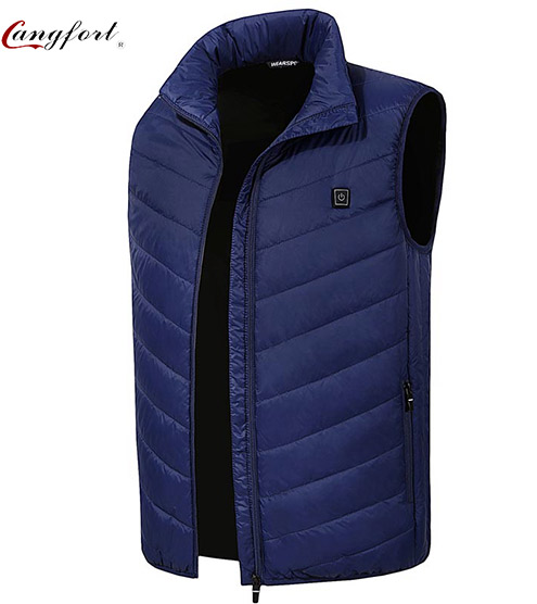 Heating Warm Sport Vest For Camping фото