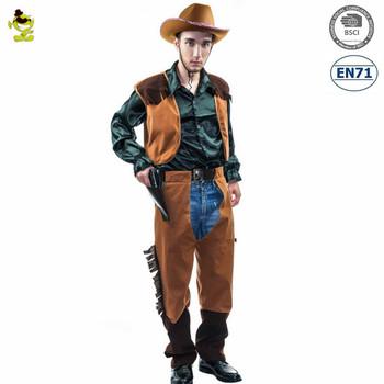 Cowboys Costume Men Halloween Boys Party Costumes Buy