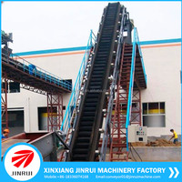 Material Handling Equipment Large Inclined Belt Conveyors for Cement Plant or Mining