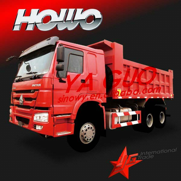 SINOTRUCK 6X4 howo dump better than isuzu elf dump trucks