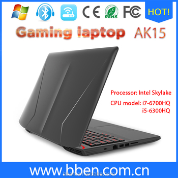 price roll top laptop Gaming laptop core i7 6700hq 15.6 inch gtx 960m gaming laptop computer 1920*1080 for Asus laptop