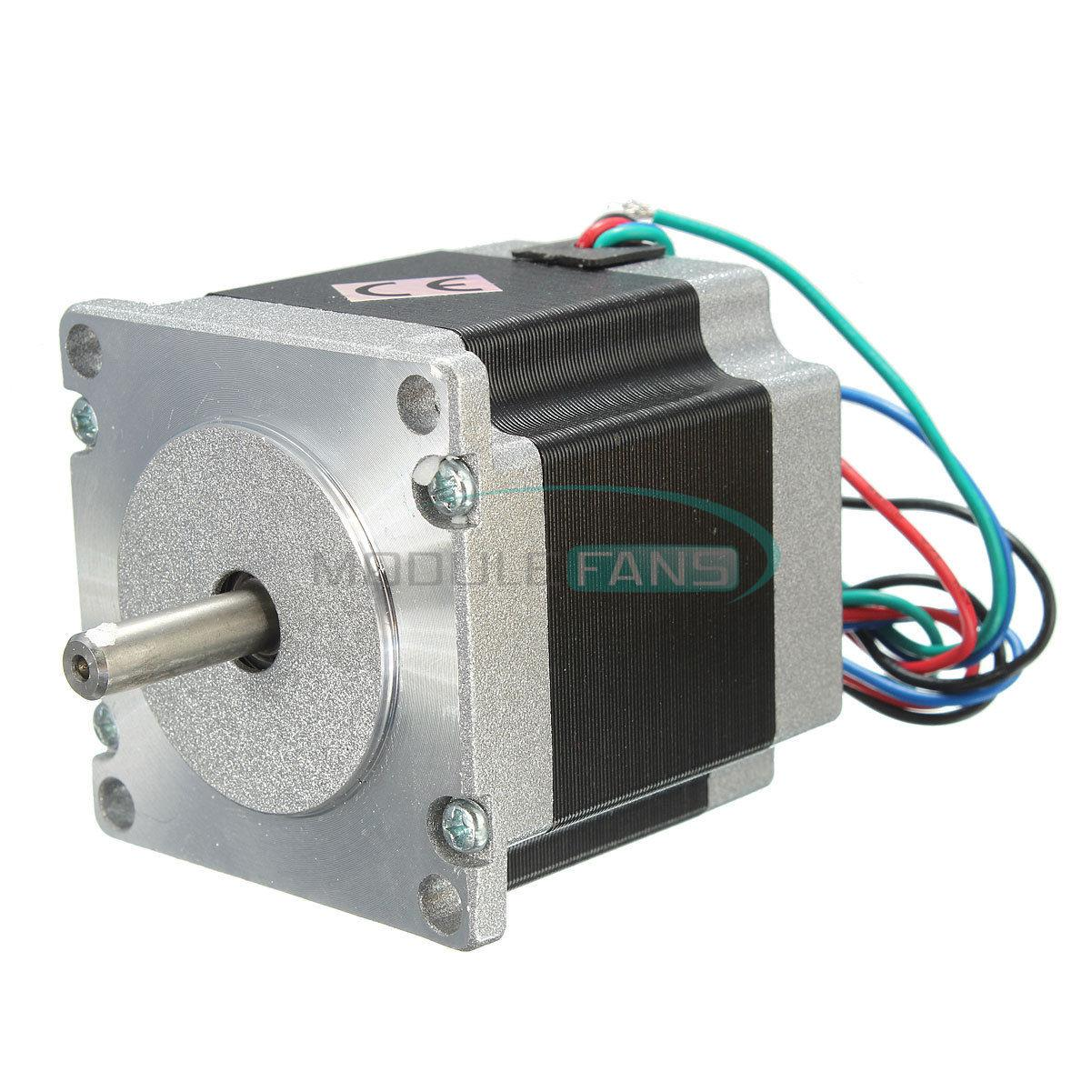 DC 24V Stepper Motor for Nema 23(57BYGH420) Single Shaft 12.6Kgcm 56mm 1.8Degree