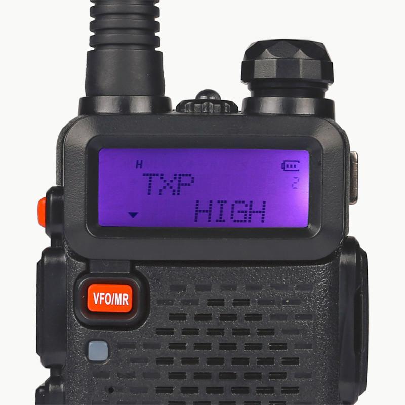 BaoFeng Portable Amateur Radio UV-5RTP Dual Band (VHF/UHF) - High Power