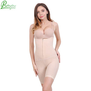 128125fdccaa0 Zipper Straps Super Body Slimming Shapewear With Hole On Butt - Buy ...