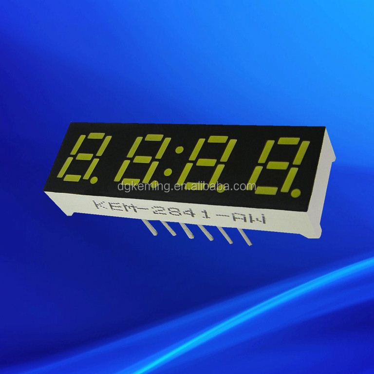 Ali0.28 inch 4 quad-digit ultra red led signs for gas stations
