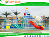 2015 attractive design used Water Park Equipment for sale water fiberglass slide