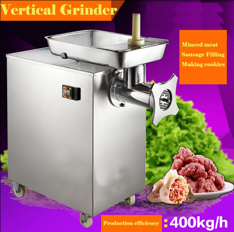 400kg/H Commercial 304 Stainless Steel Meat Grinder
