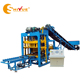 QT4-25 Hollow Block Making Machine Type and Brick Production Line Processing