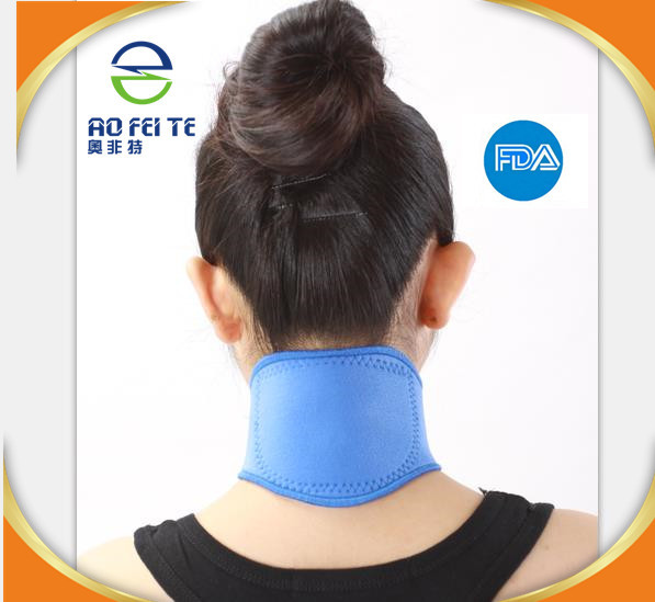 Hot new products for 2019 Cervical Neck Traction Device Headache Shoulder Pain Relax Brace neoprene neck support