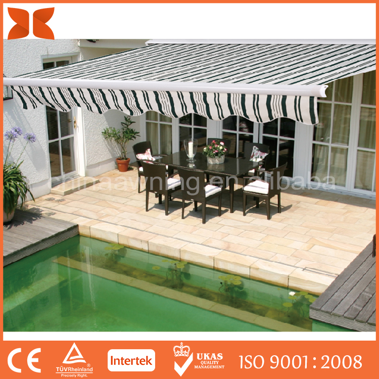 SC-2820 Most Beautiful Hot Sale retractable motorised awning