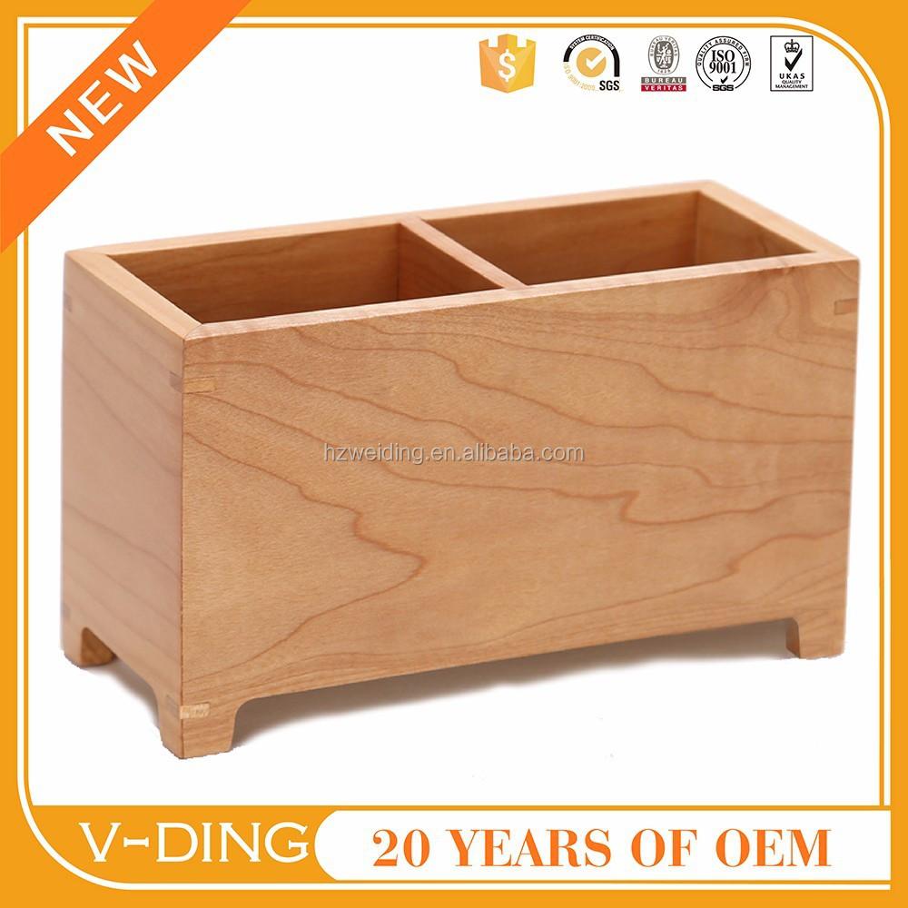 Accessori scrivania ufficio : Vding nuovi prodotti in legno portapenne penna forniture per