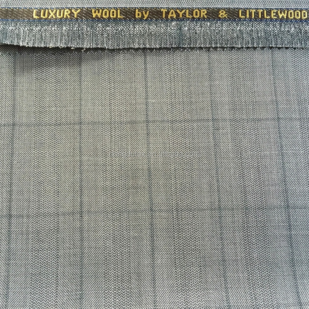 Ready goods UK poly wool fabric
