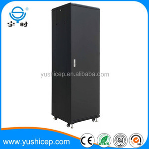 Network telecom cabinet 42u 600mm width 800mm depth steel rack for server with 15 years experience