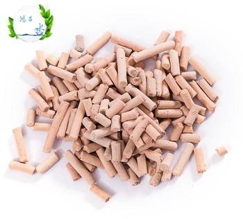 Low price refined ferric oxide desulfurizer used for waste gas desulfurization