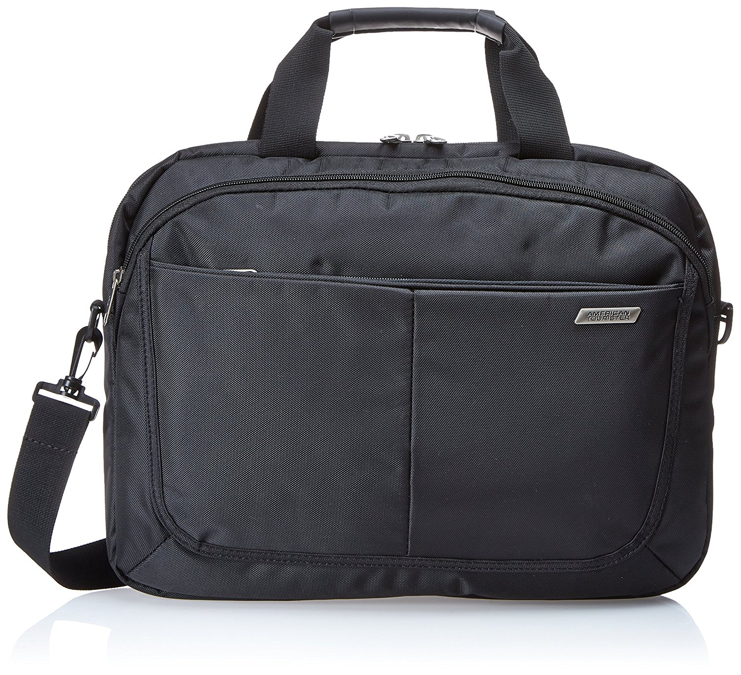634f4897bf Get Quotations · American Tourister Slim Brief - 15.6 Business Bag
