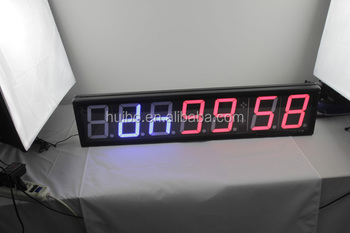 TF-ML2009 LED light interval repeat cycle timer for Tabata, Crosfit